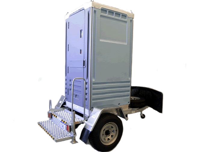 Alltoilets (WA) Single Off-Road Trailer Mounted Portable Toilets